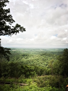 Marrow Mountain State Park - view from summit