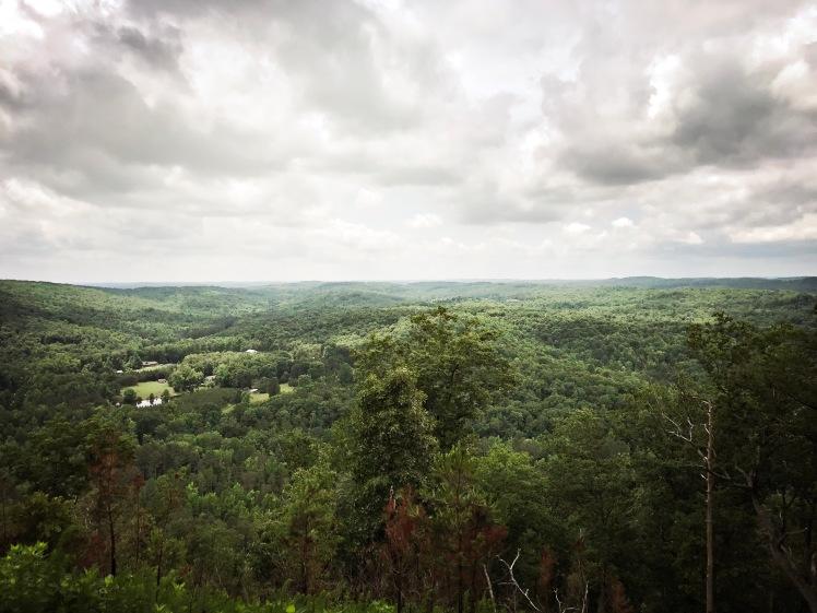 Marrow Mountain State Park - view