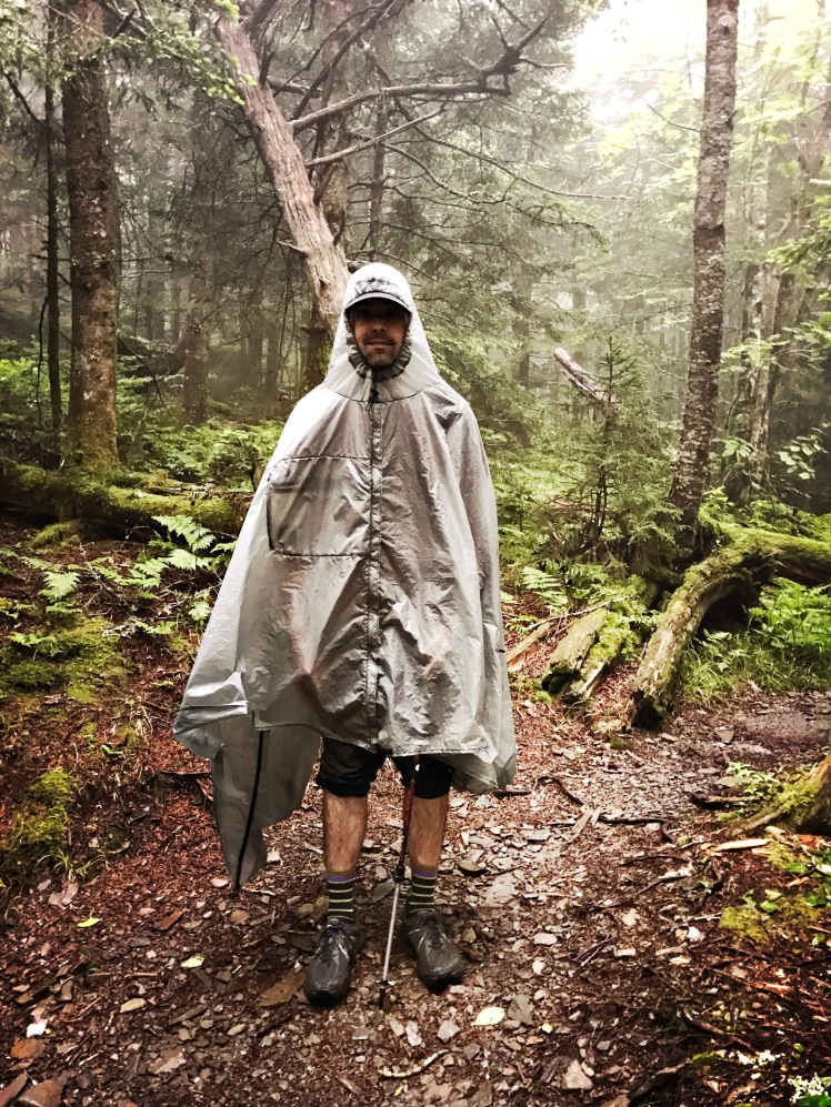 Balsam Mountain Trial - poncho