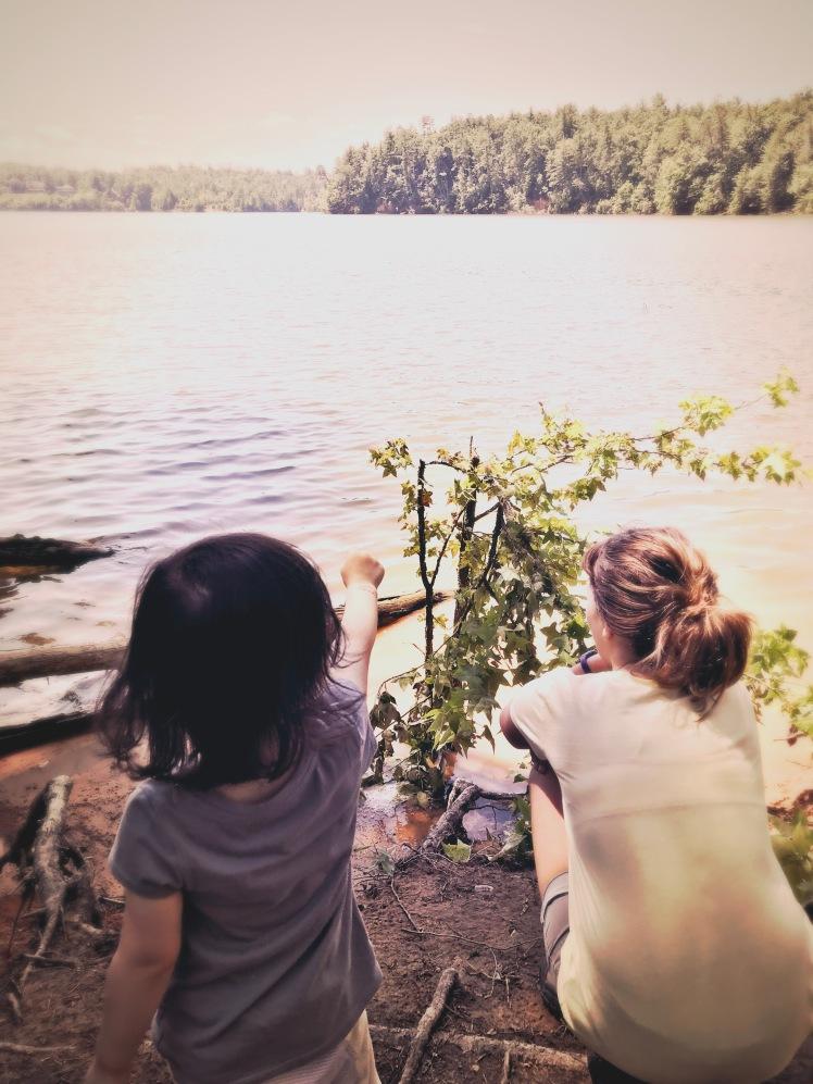Lake Jame State Park - Alice and Ramona