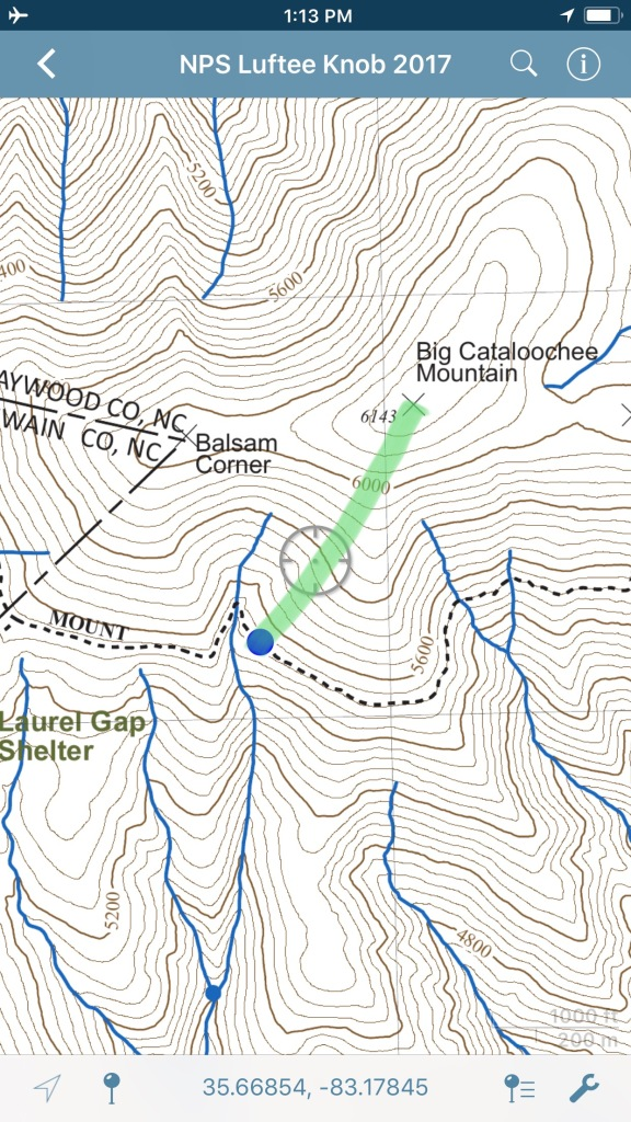 route to Big Cataloochee