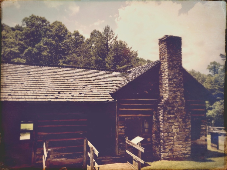 Stone Mountain State Park - cabin