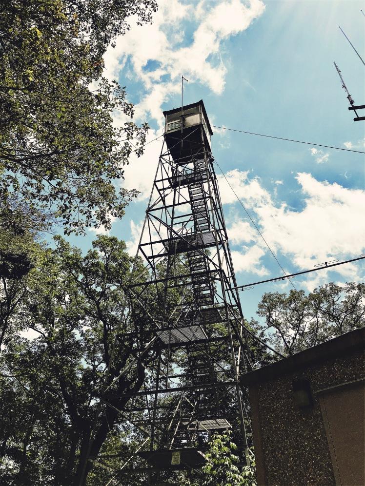 Barnett Knob - tower
