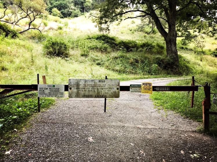 Chamber Mountain - gate