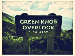 Green Knob Lookout - overlook