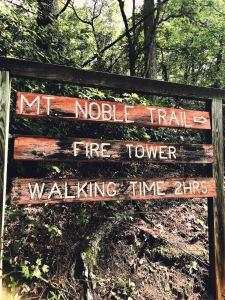Mount Noble - trailhead