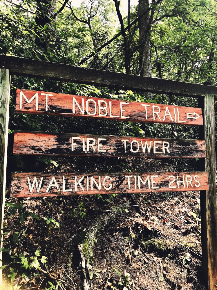 Mount Noble - trailhead