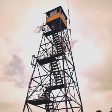 Bearwallow Mountain - fire tower