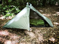 Campsite 41 - Six Moon Designs Gatewood Cape and Zpacks quilt
