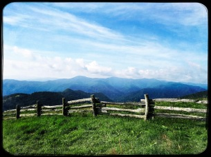 Hemphill Bald summit
