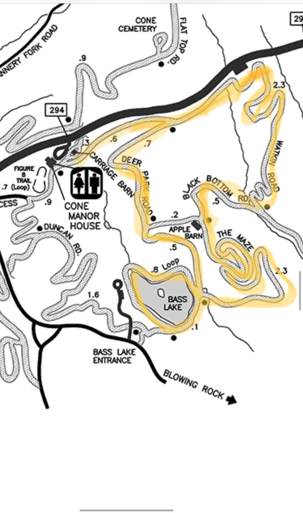Map (courtesy of NPS)
