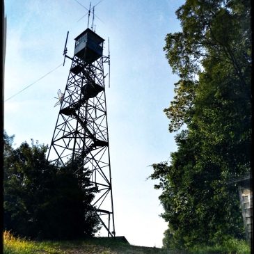 Rendezvous Mountain State Forest - fire tower