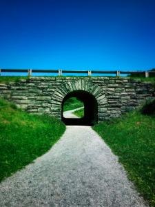 Rich Mountain Trail - bridge