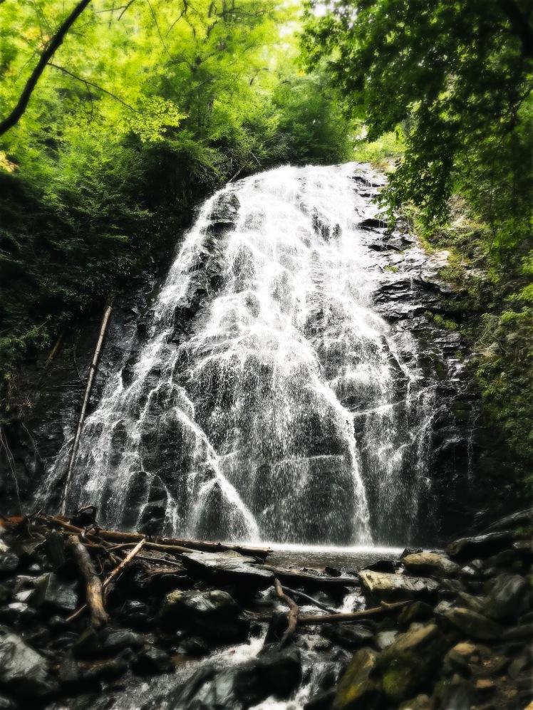 Crabtree Falls - the falls