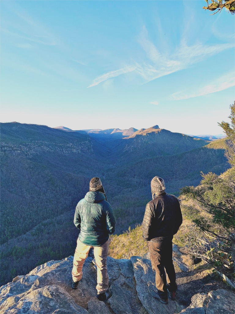 Linville Gorge Wilderness - Ryan and Doug
