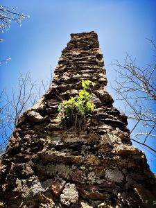Shuckstack Tower - chimney
