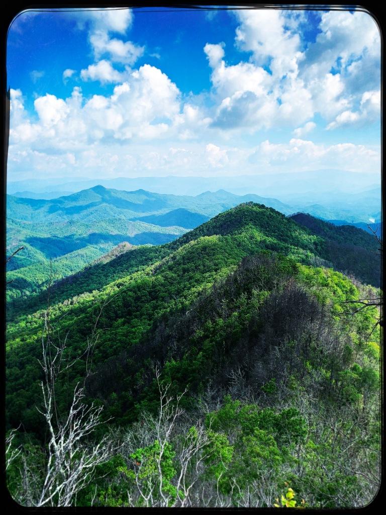 Appalachian Trail - Jump Up Rock view