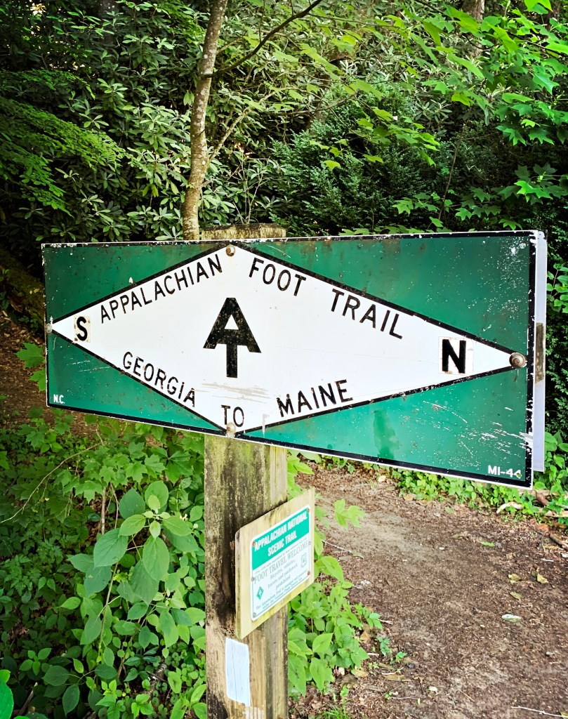 Appalachian Trail - trailhead at NOC