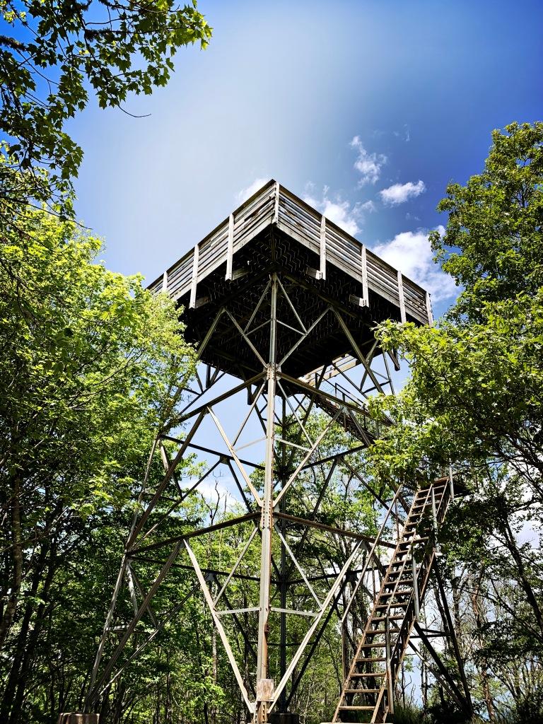 Wesser Bald - tower