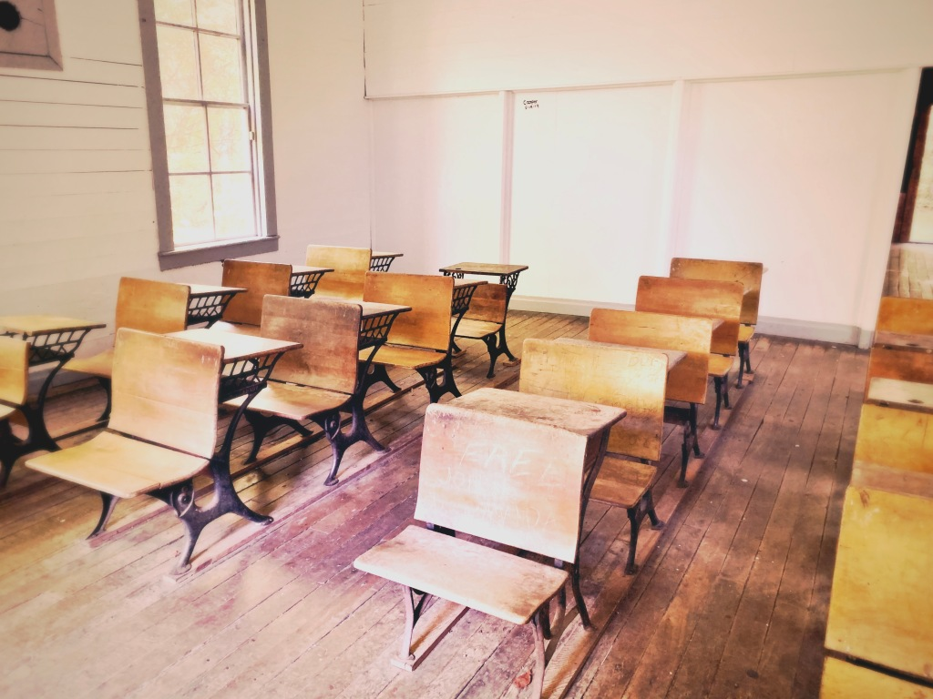 Cataloochee - inside school