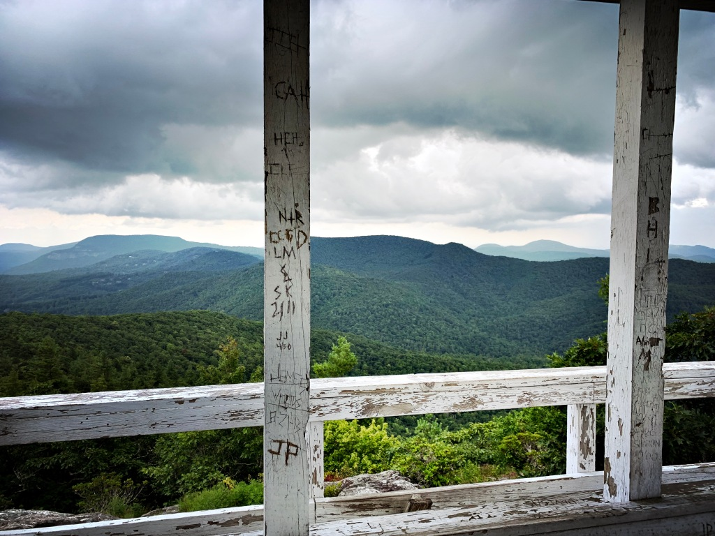 Yellow Mountain Fire Tower - view from tower