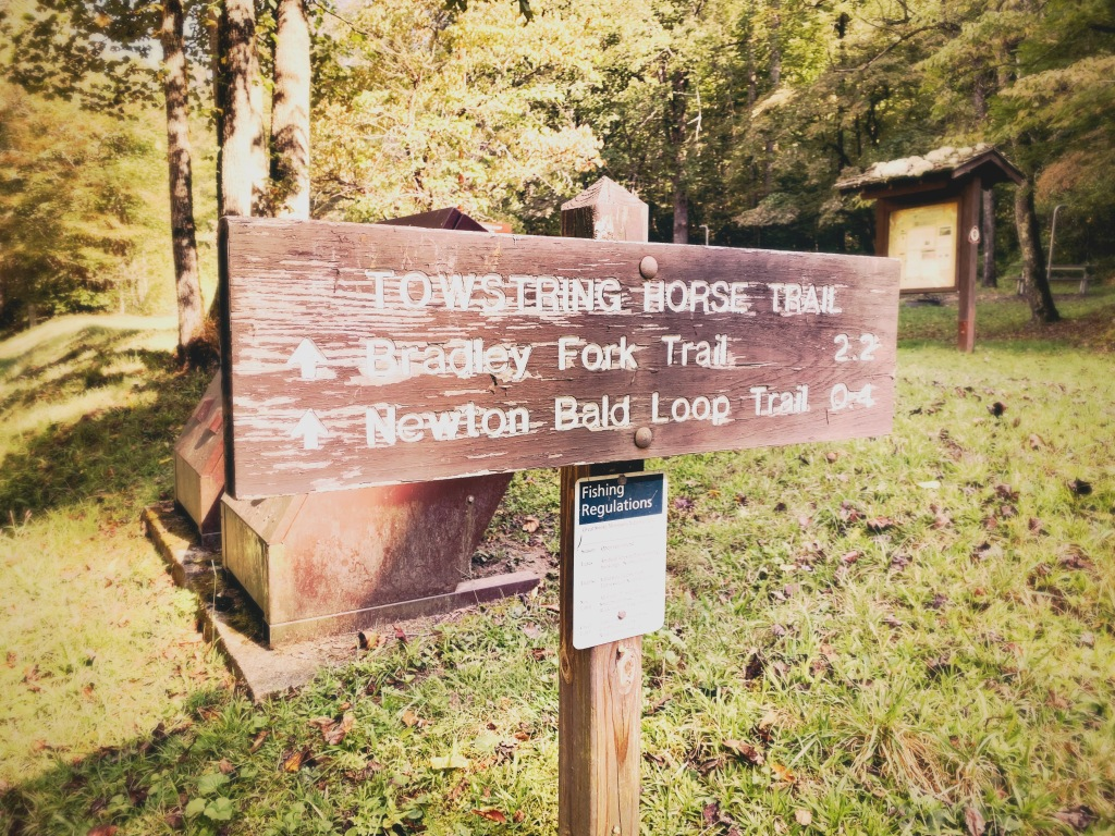 Tow String Trail - trailhead