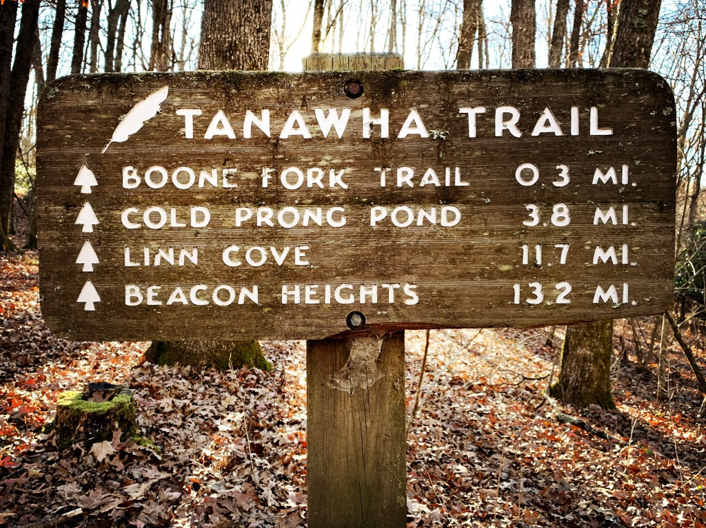 Tanawha Trail - Price Park Lake