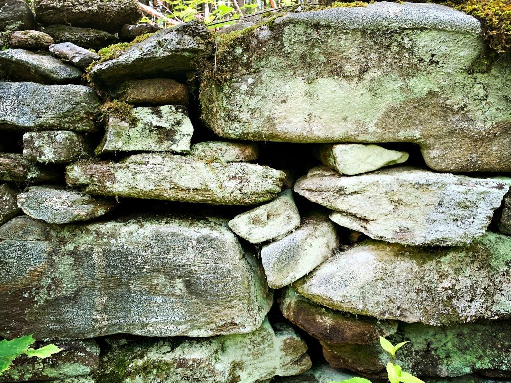Boogerman Trail - rock wall
