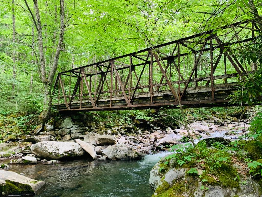 Bradley Fork Trail - bridge