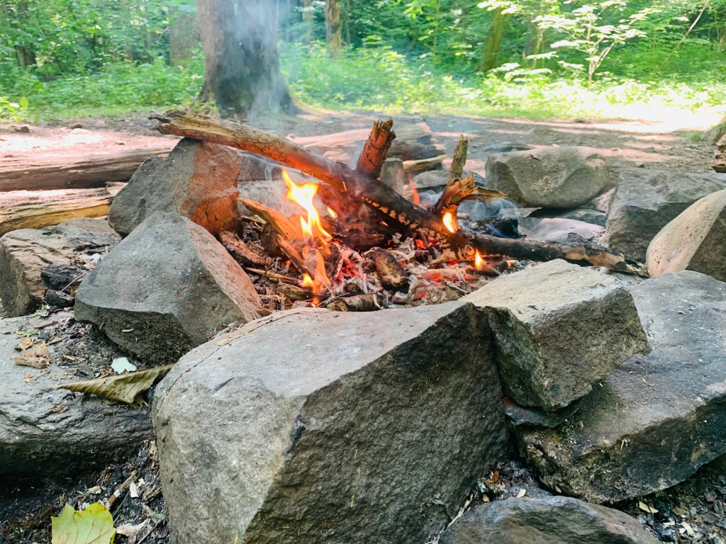 campsite #49 - fire