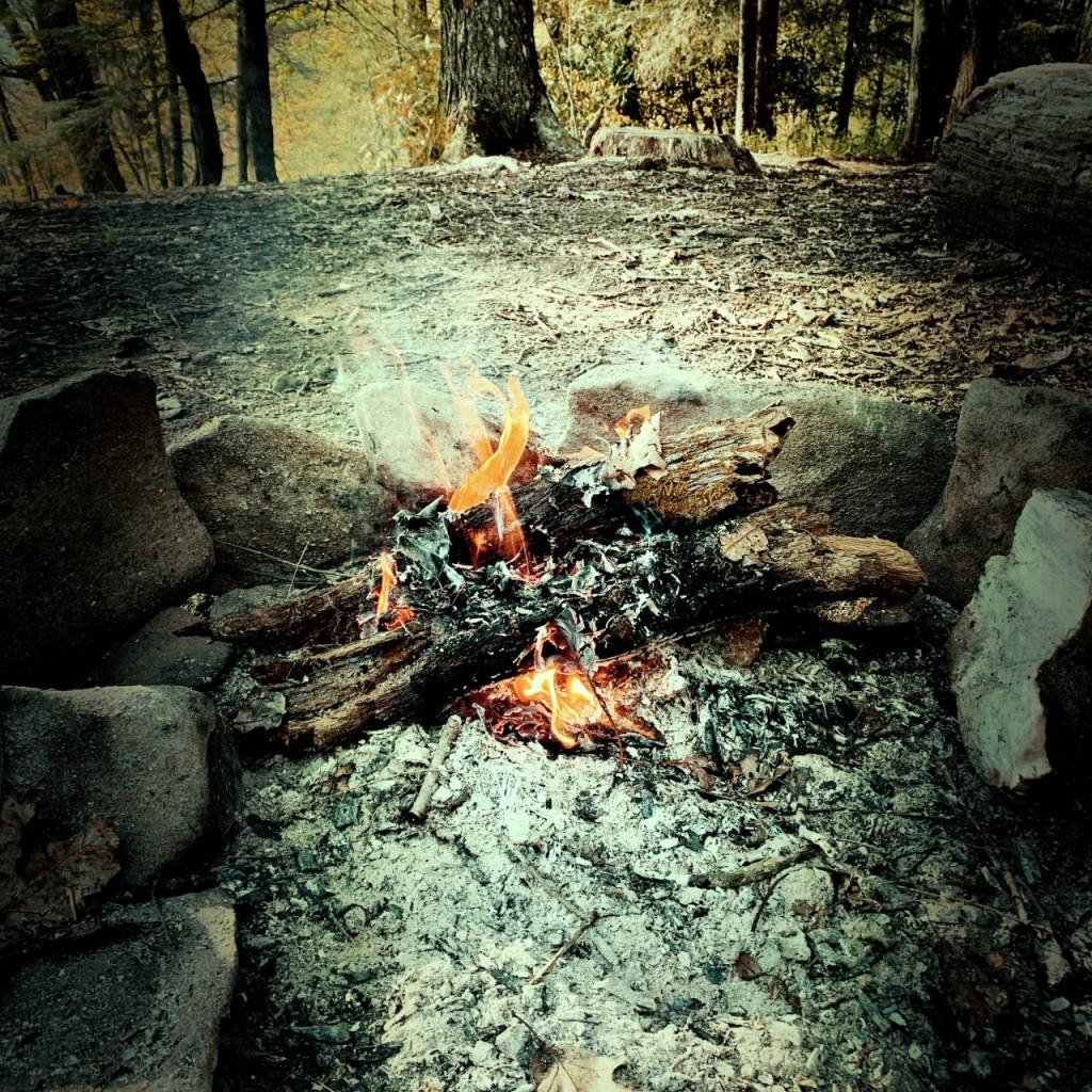 campsite #52 - fire